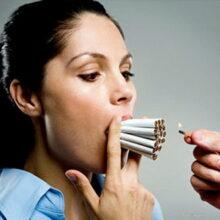 Курение разрушает психику