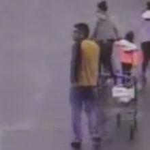 Ловкий герой с магазинной тележкой оказал полиции помощь