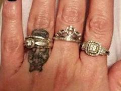 Показав людям обручальное кольцо, невеста заодно напугала всех «ведьминскими» ногтями
