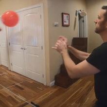 Друзья установили «карантинный» мировой рекорд с пляжным мячом