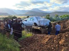 Любимый автомобиль отправился вместе со своим владельцем в могилу