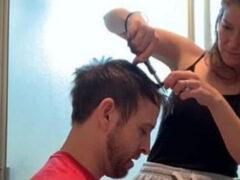 Муж, который хотел подстричься, напрасно доверился жене