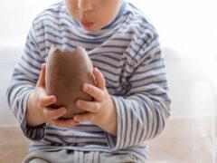 Чрезмерное количество шоколадных яиц вызвало семейную ссору