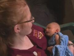 Девушка, родившая ребёнка в ванной комнате, даже не подозревала, что беременна