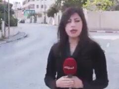 Неосторожный водитель напугал журналистку